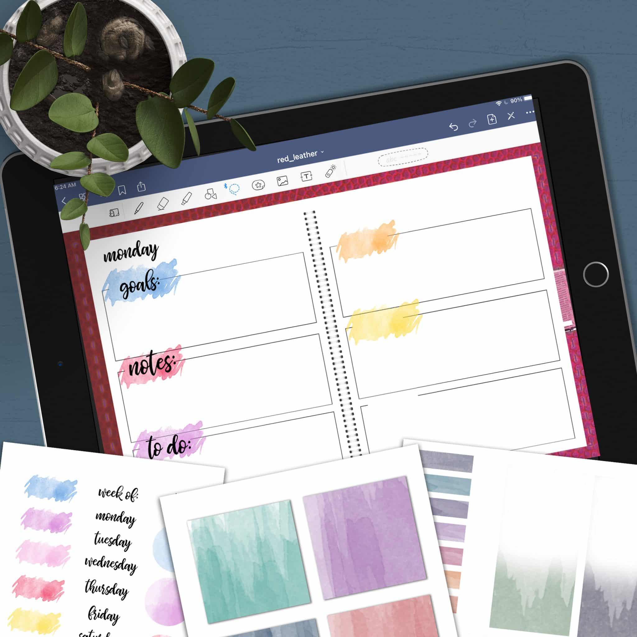 digital planner accessories